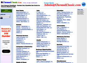 Chennaiclassic.com thumbnail