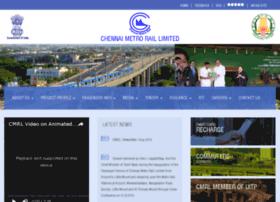 Chennaimetrorail.gov.in thumbnail