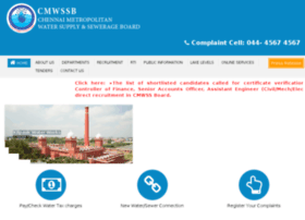 Chennaimetrowater.gov.in thumbnail