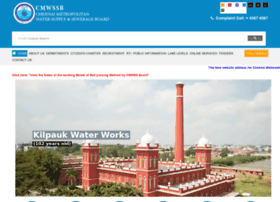 Chennaimetrowater.tn.nic.in thumbnail