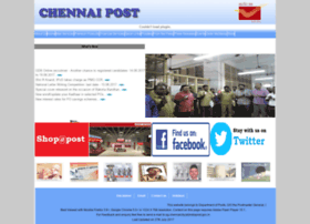 Chennaipost.gov.in thumbnail