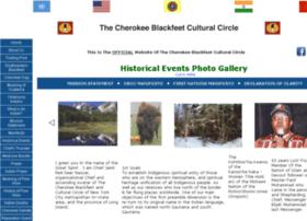 Cherokeeblackfeet.org thumbnail