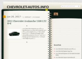 Chevrolet-autos.info thumbnail