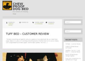 Chewproofdogbed.com thumbnail