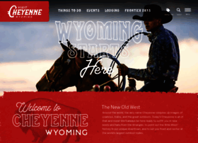 Cheyenne.org thumbnail