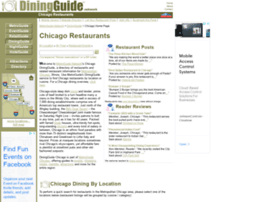 Chicago.diningguide.com thumbnail
