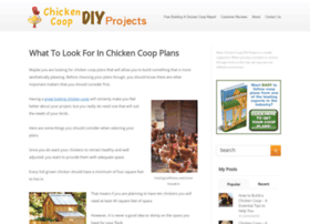 Chickencoopdiyprojects.com thumbnail