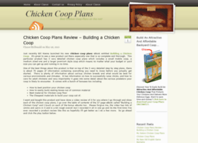 Chickencoopplansblog.com thumbnail