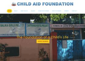 Childaidfoundation.org thumbnail