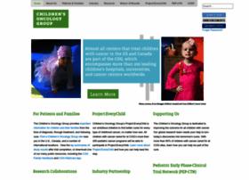 Childrensoncologygroup.org thumbnail