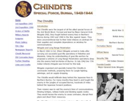 Chindits.info thumbnail