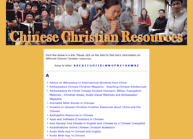 Chinesechristianresources.org thumbnail
