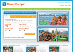 Choicecamps.com thumbnail