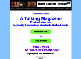 Choicemagazinelistening.org thumbnail