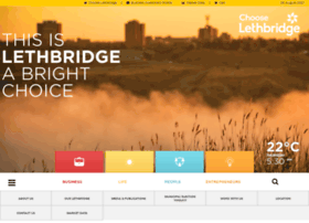 Chooselethbridge.ca thumbnail
