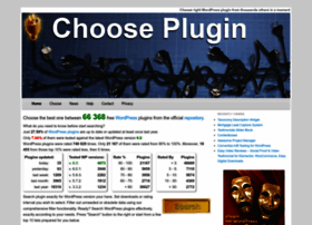 Chooseplugin.com thumbnail