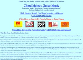 Chordmelody.com thumbnail