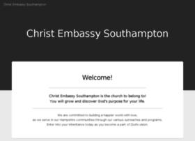 Christembassysouthampton.org.uk thumbnail