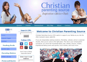 Christian-parenting-source.com thumbnail