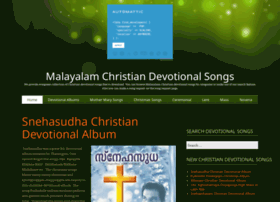 Christiandevotionalsongs.in thumbnail