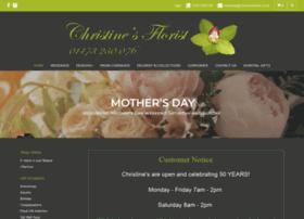 Christinesflorist.co.uk thumbnail