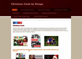 Christmascardsbydesign.com thumbnail