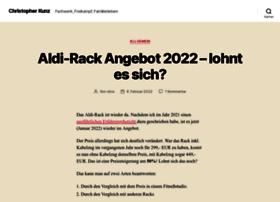 Christopher-kunz.de thumbnail
