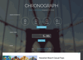 Chronograph.io thumbnail