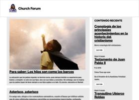 Churchforum.org thumbnail