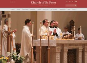 Churchofstpeternsp.org thumbnail