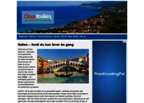 Ciao-italien.dk thumbnail