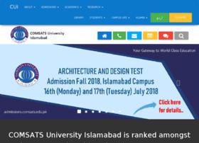 Ciit-isb.edu.pk thumbnail