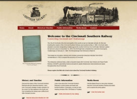 Cincinnatisouthernrailway.org thumbnail