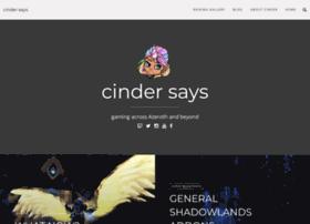 Cindersays.net thumbnail