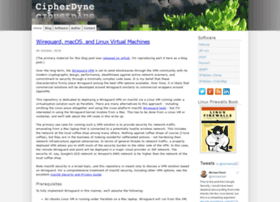 Cipherdyne.org thumbnail