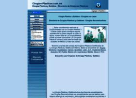 Cirugias-plasticas.com.mx thumbnail