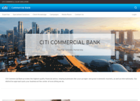 Citicommercialbank.com.sg thumbnail