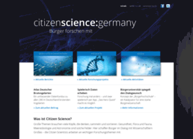 Citizen-science-germany.de thumbnail