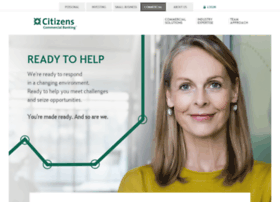 Citizenscommercialbanking.com thumbnail