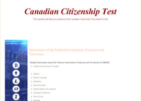 Citizenshiptest-canada.com thumbnail