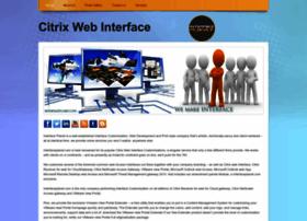 Citrixwebinterface.webs.com thumbnail