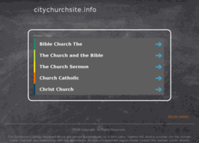 Citychurchsite.info thumbnail