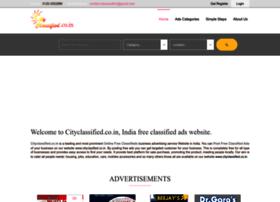 Cityclassified.co.in thumbnail