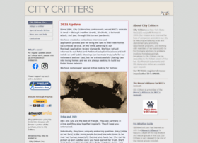 Citycritters.org thumbnail