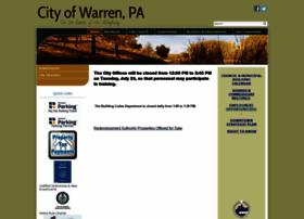 Cityofwarrenpa.gov thumbnail