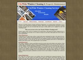 Citywidewindowcleaning.ca thumbnail