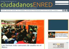 Ciudadanosenred.org.mx thumbnail