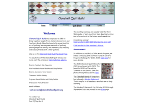 Clamshellquiltguild.org thumbnail
