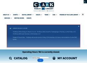 Clarklibrary.org thumbnail
