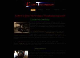 Clarkstransmission.us thumbnail